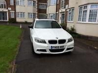 WHITE BMW 318I M SPORT 2010