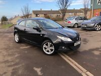STUNNING SEAT IBIZA SPORT 1.4 PETROL-FULL SERVICE HISTORY-COMES WITH FULL YEAR MOT+3 MONTHS WARRANTY