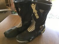 OXTAR motorcycle boots Size 45