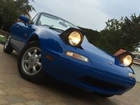 1990 Eunos Roadster 1.6 Auto. Japan Spec
