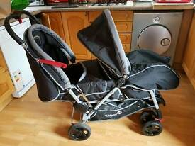 safety first duodeal tandem buggy