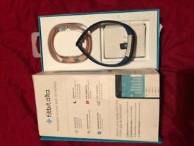 Fitbit Alta with box and charger plus extra straps
