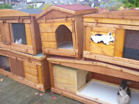"rabbit hutch 48""wide in /outdoor from £35.00 7days 07889465089 near hampden park robust germ free"