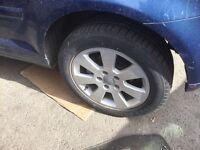 Audi A3 genuine alloy wheel set