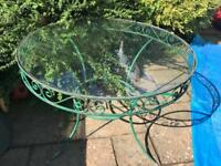 Garden Table (glass)