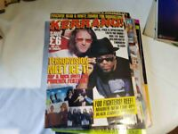 OLD SCHOOL EARLY 90'S KERRANG AND METAL HAMMER MAGAZINES WITH POSTERS