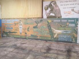 Massive Gym Wall Prints Posters Murals