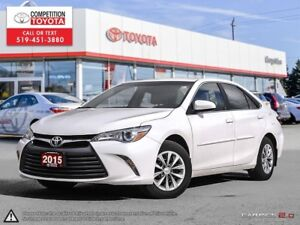 2015 Toyota Camry LE Toyota Certified, One Owner, No Accident...