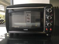VonShef 26L Toaster Oven with 2 Hot Plates