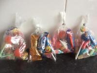 Sweet bags 3x£1