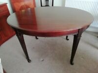Edwardian Small Oval Table
