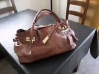 Jasper Conran Large Leather Handbag