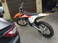 Ktm sx-f 350 brand new! Unused due to unforeseen circumstances! The best of motorcross bikes