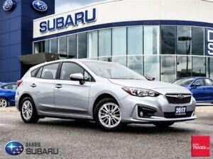 2017 Subaru Impreza 5Dr Touring CVT Cloth,Bluetooth,Alloys,h.Sea