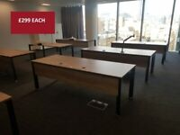 Various prices for Single office/business computer task desk tables (Please enquire)