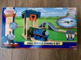 Thomas & Friends - Wooden Railway Coal Hopper Figure 8 Set