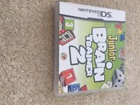 DS game: Junior Brain Trainer 2