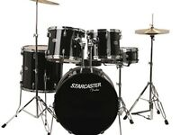 Fender full drum kit starcaster