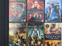 6 Action Film DVDs - used but very good condition