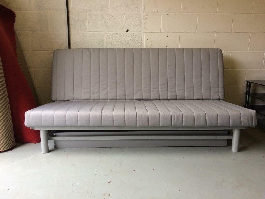 Ikea Futon Sofa Bed With Storage Draw Grey Large Furniture Centre Gateshead In Tyne And Wear Gumtree