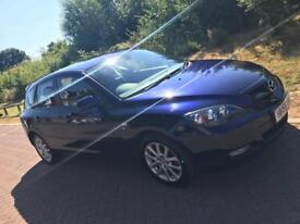 Blue Mazda 3 Takara