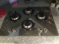 Mirror finish Hotpoint gas hob - free to good home