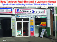 Money Transfer and Repair Shop For Sale
