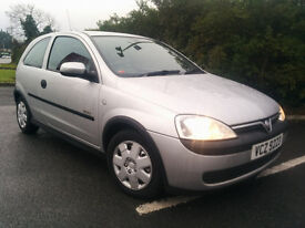 Vauxhall Corsa 1.0 Elegance 12v LOW MILEAGE!!!Service History!!!! (polo,fiesta ,yaris,golf,clio)