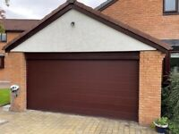 Electric Garage Door in perfect condition