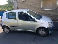 Toyota Yaris low millage 74000