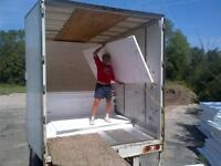 Unloading truck into warehouse Tuesday!