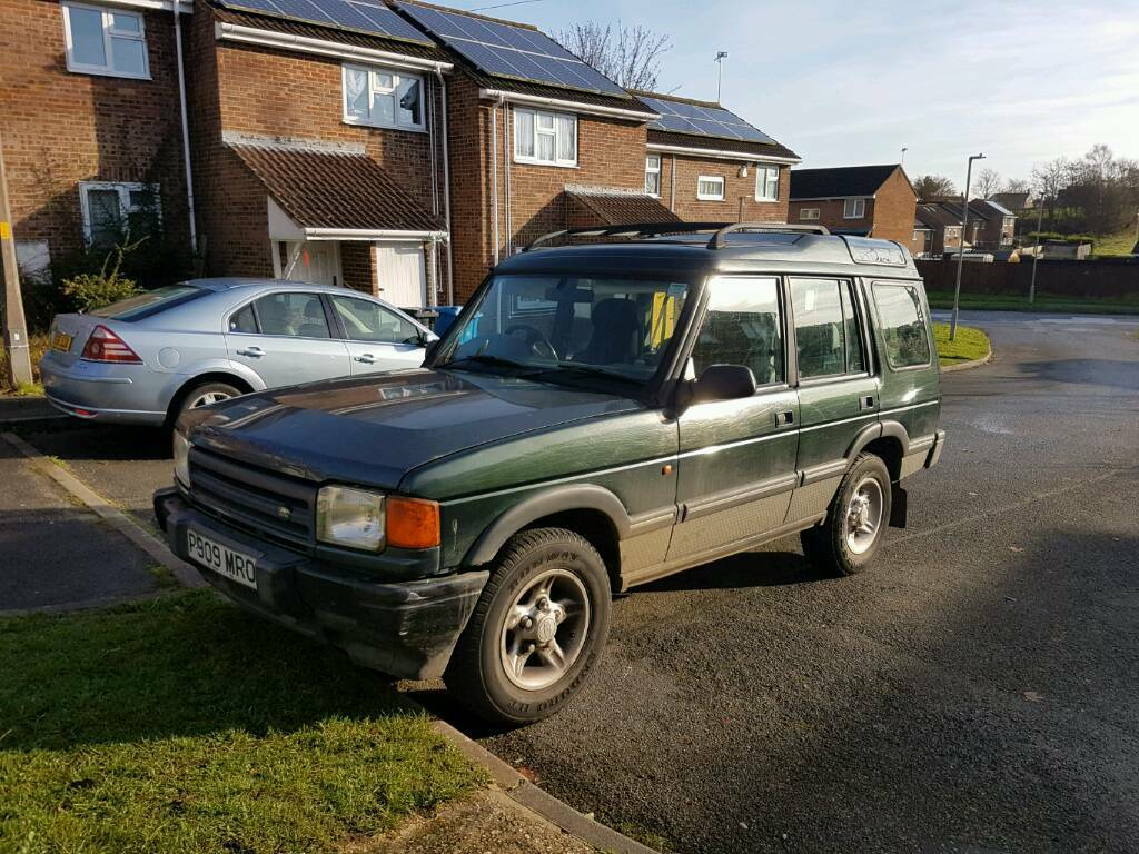 Land Rover Discovery Goodwood V8 Manual twin LPG Rare 1 of only 500 made