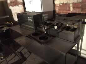 Commercial hot food stainless steel catering equipment joblot