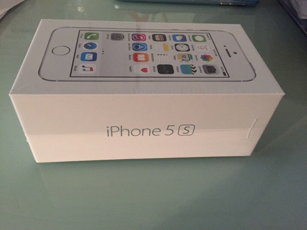 Brand new and factory sealed APPLE IPHONE 5S ,SILVER , 16GB