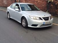 2008 Saab 9-3 1.9 TiD Linear SE 4dr diesel saloon 150bhp **cheapest on net**full history**NO OFFERS
