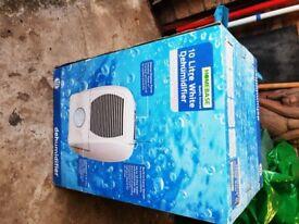 Homebase 10 litre dehumidifier