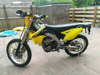 Suzuki Rmz 450 2016 (NEVER BEEN RACED)