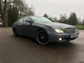 MERCEDES CLS 320 CDI-AMG DIESEL-AUTO-FULL LOADED-QUAD(4) AMG EXCHUAST-SAT NAV-HEATED LEATHER SEATS