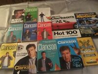 Various TV personality and Top Gear books