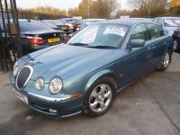 Jaguar S-TYPE V6 SE Auto,4 door saloon,full leather interior,clean tidy car,runs very well,X964PTL