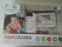 half price brand new digital colour video baby monitor Panorama summer infant