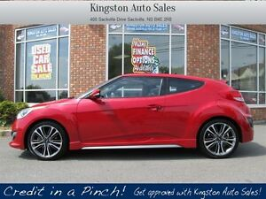 2016 Hyundai Veloster Turbo - LEATHER, NAV, ROOF, B/UP CAM