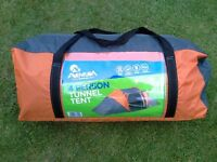 Halfords Aventura 4 Man Tent - Unused and Mint Condition.