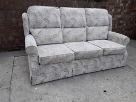 3 Seater Sofa & 2 Armchairs Nearly New
