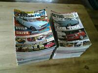 CLASSIC FORD and RETRO FORD MAGAZINES. 87 in total. Anglia, Capri, Cortina, Escort, Granada, Sierra