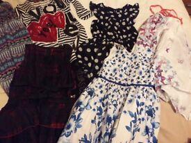 Girls clothes bundle age 5-8