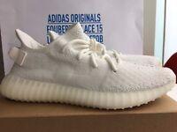 Adidas YEEZY 350 V2 Cream White UK 9.5 US 10 EU 44
