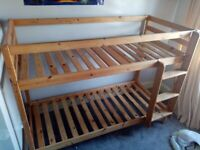 Pine Shorty Bunk Bed