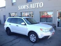 2012 Subaru Forester X AWD OFF LEASE CERTIFIED & E-TESTED