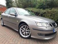 Saab 9-3 2.0T Aero #Service History #Full Leather Interior #Alloys #Long Mot #Parking Aid